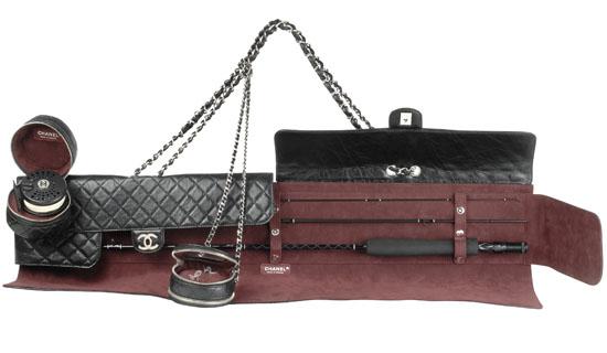 Удочка Chanel.  Стоимость 14 300 эуро.